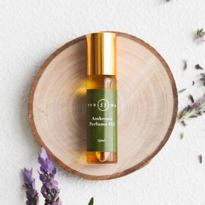 natural perfume oils   Ambrosia   Verissima Natural Skin Care