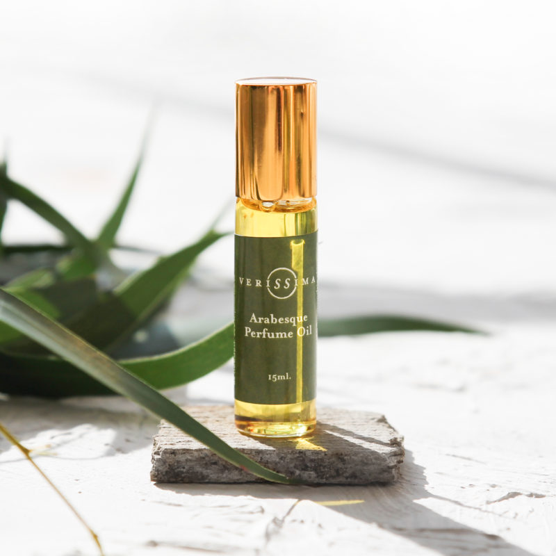 aromatherapy perfume oils   Arabesque   Verissima Natural Skin Care