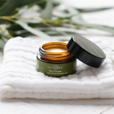 Natural Eye Cream Open Top | Verissima Natural Skin Care