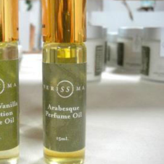 natural perfume oil | Verissima Natural Skin Care