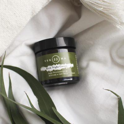 Rich Night Cream for Dry Skin | Verissima Natural Skin Care