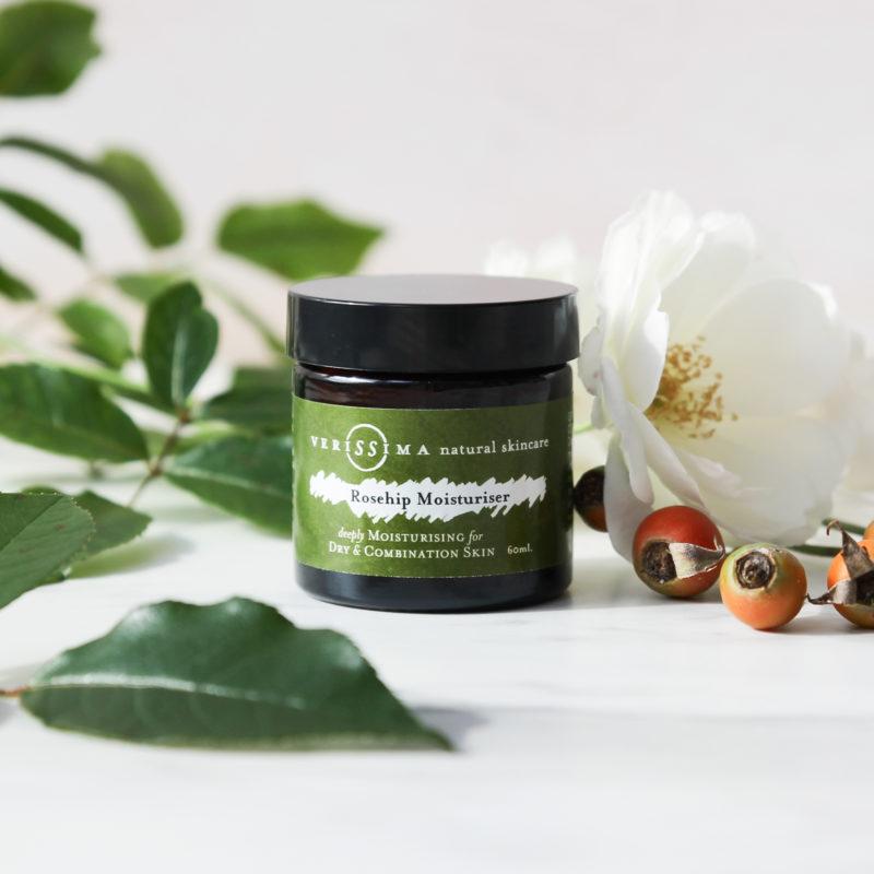 Rosehip Moisturiser Front | Verissima Natural Skin Care