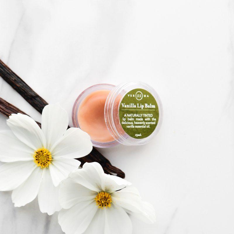 Beeswax lip balm   Vanilla lipbalm   Verissima Natural Skin Care