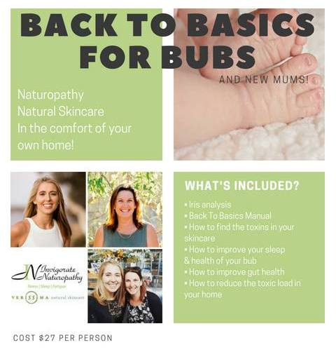 Back To Basics Event For New Mums & Bubs