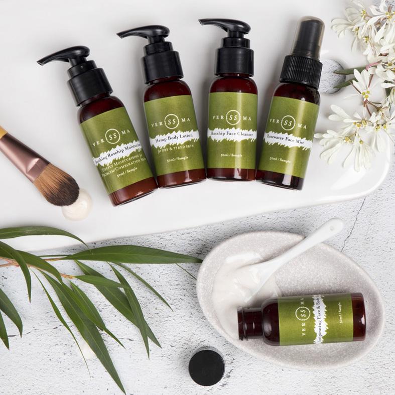 Travel Skin Care Products   Verissima Natural Skincare